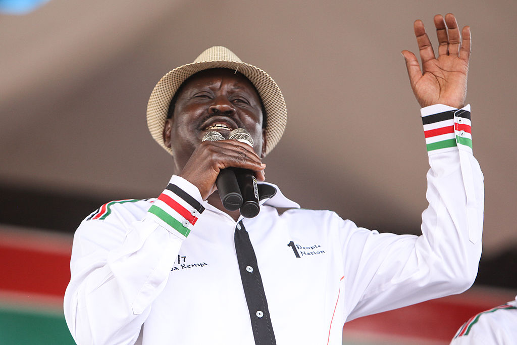 Raila Odinga © Tom Maruko/Pacific Press/LightRocket/Getty Images