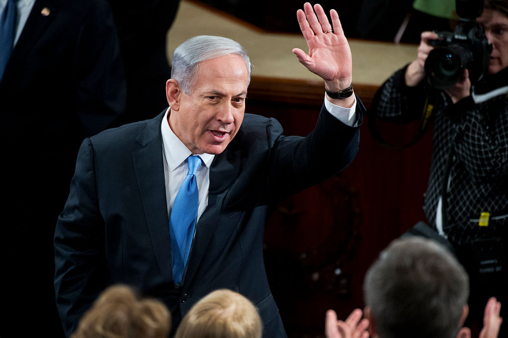Benjamin Netanyahu © Tom Williams/CQ Roll Call