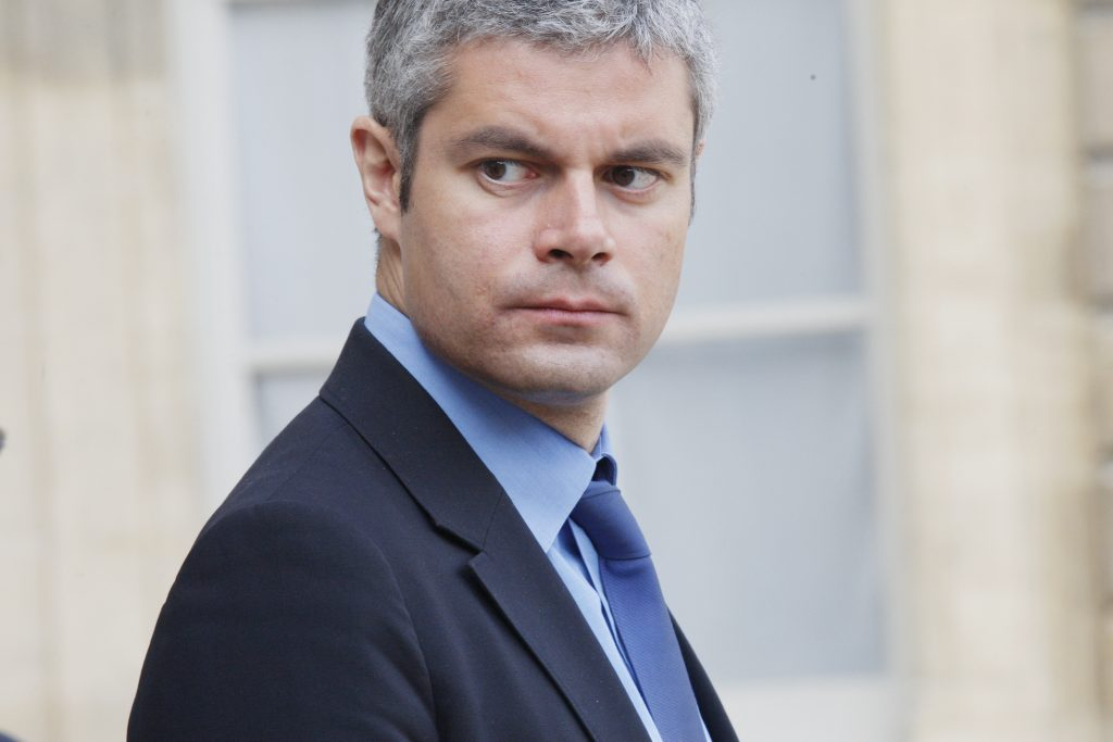 FRANCE - MARCH 03: Weekly Ministers Council at the Elysee Palace in Paris, France on March 03rd, 2010 - Laurent Wauquiez, State Secretary in charge of Employment. (Photo by Thomas SAMSON/Gamma-Rapho via Getty Images)