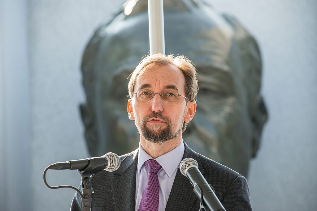 Zeid Ra'ad Al Hussein - © Albin Lohr-Jones/Pacific Press/LightRocket via Getty Images